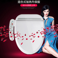 Smart Heated Toilet Seat WC Sitz Intelligent Water Closet Automatic Toilet Lid Cover Heating Wash Clean Dry Ass anus vaginal