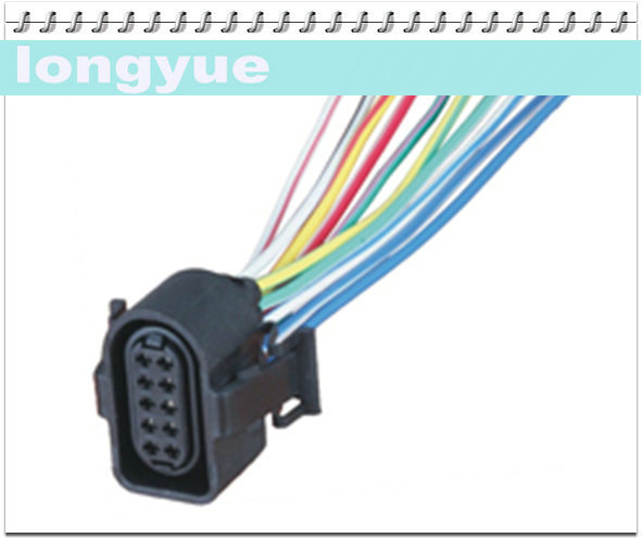 longyue 20pcs font b universal b font 10 way female Pigtail Connector font b Automotive b universal automotive wiring harness diagram wiring diagrams for wire fu harness at bayanpartner.co