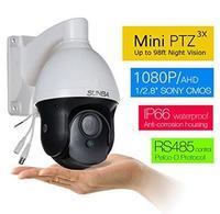 SUNBA AHD 1080P Mini PTZ Cameras 3X Optical Zoom 25m Night Vision Outdoor CCTV Security Dome