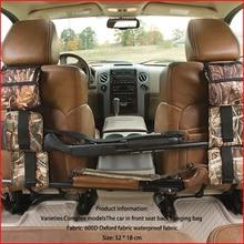 Portable Multi-Function Camouflage Hunting Bag for Car Rear Seat Belt Gun Rack travel Hunt supplies Muti-pockets shotgun sling