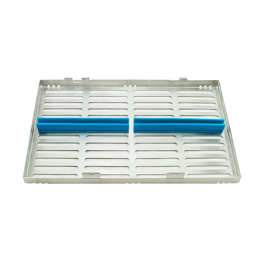 ФОТО New Arrival! NEW Dental Sterilization Cassette Rack Tray Box for 20 Surgical Instruments High Quality