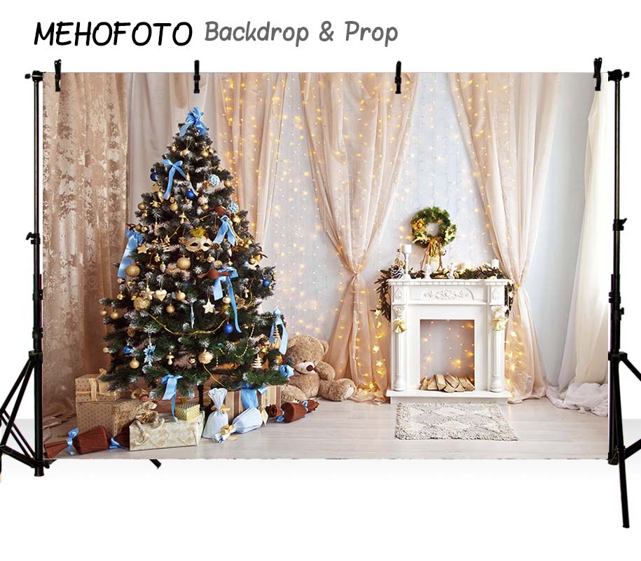 Image 2 - MEHOFOTO Christmas backdrops Photography Backdrop Birthday Party Custom Fotografia Seamless  Photo Backgrounds-in Background from Consumer Electronics