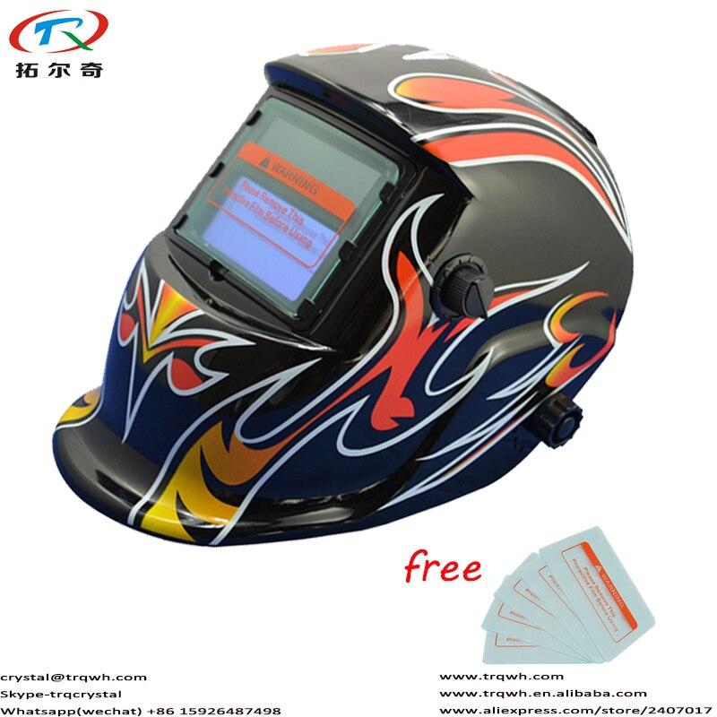 Speedglas kask spawalniczy automatyczne przyciemnianie soczewka filtra fabryka najlepsza cena pełna z unoszoną szybą elektroniczna osłona maski 5 sztuk za darmo