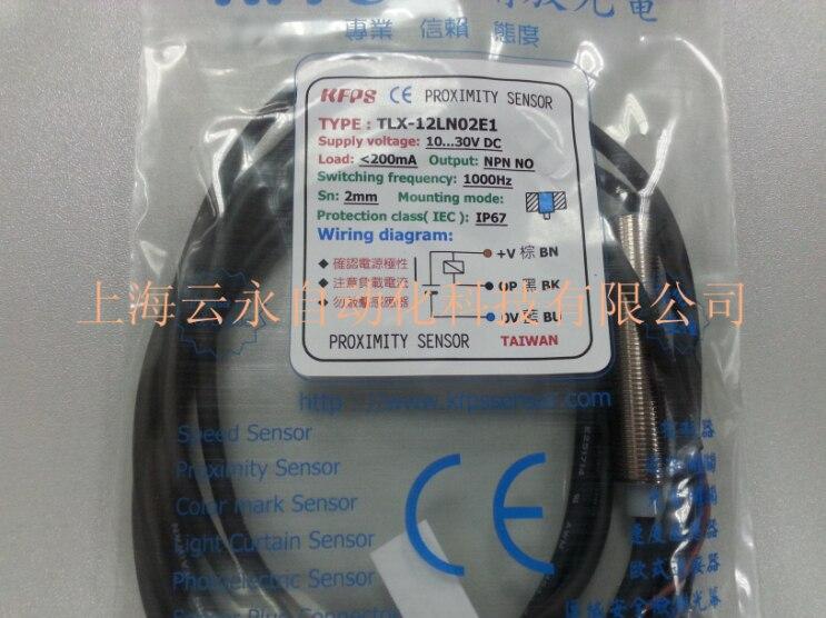 NEW  ORIGINAL TLX-12LN02E1 Taiwan kai fang KFPS twice from proximity switch turck proximity switch bi2 g12sk an6x