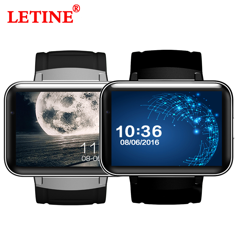 LETINE GPS Smart Watches DM98 3G 2 2 inch Passometer Wrist Watch Phone for Connected Android