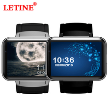 Купить с кэшбэком LETINE GPS Smart Watches DM98 3G 2.2 inch Passometer Wrist Watch Phone for Connected Android OS Support Mens Women Watch