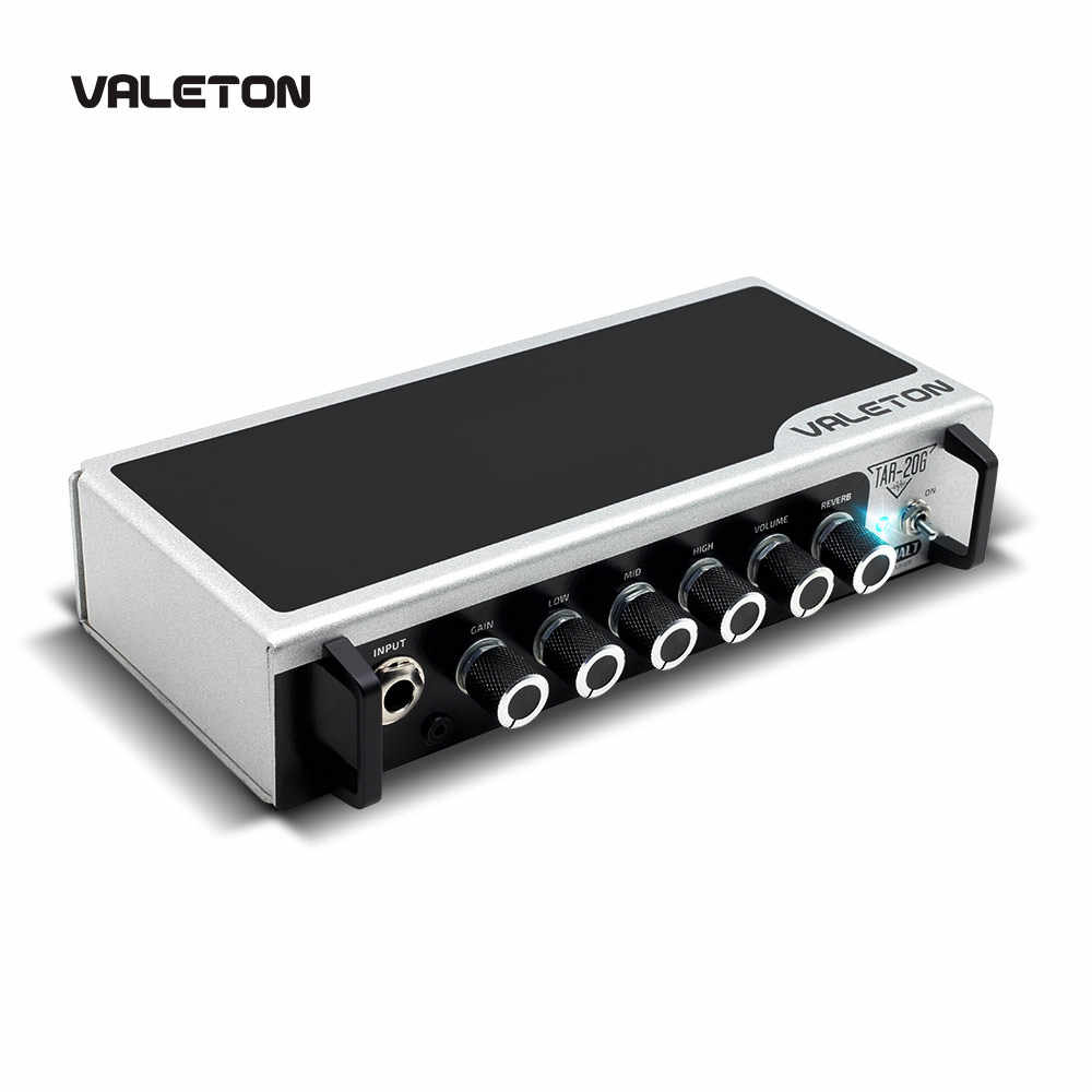 Valeton Guitar Amp with Reverb Distortion Overdrive Asphalt TAR-20G Pedal Platform Amplifier Head with CAB SIM