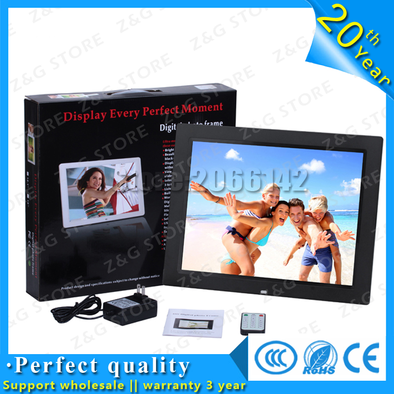 HD Electronic Digital Photo Frame 14 inch Digital Picture Frame LED Screen With Clock Slideshow Calendar Support USB SD Card fixmee 50pcs white plastic invisible wall mount photo picture frame nail hook hanger