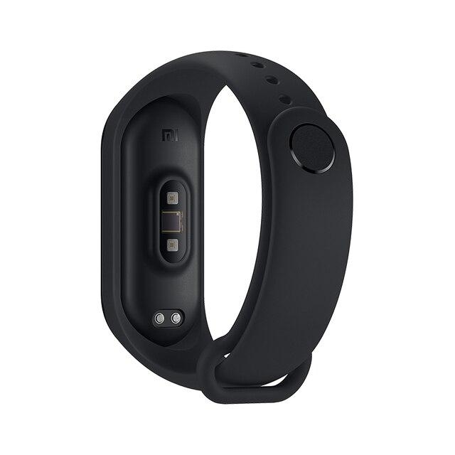 Ekran oryginalna Xiaomi Mi Pasmo 4 Inteligentne Nadgarstek fitness Bransoletka MiBand Pasmo 4 Tętno Czas Duży dotykowy Wiadomość Smartband