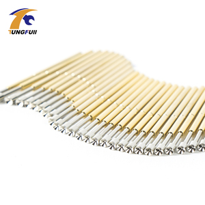 Image 3 - Spring Test Probe Best Promotion 500 Pieces P50 P100 Pogo Pin Phosphorus Brass Gilded Stainless Steel Wire