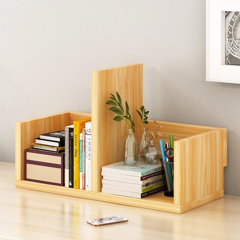 Desktop Bookshelves: Simple Combination Bookshelf Desktop Stands Creative