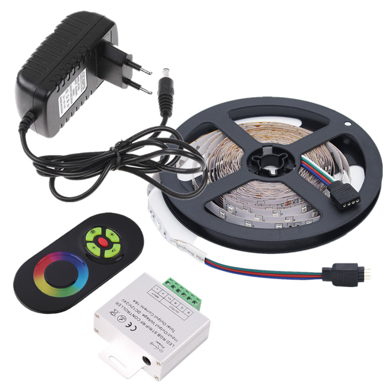 Aliexpress buy rgb led strip 12v low voltage smd diode tape aliexpress buy rgb led strip 12v low voltage smd diode tape 5m 10m 60ledsm led rope light with rf remote controller ac dc 12v led adapter from mozeypictures Images