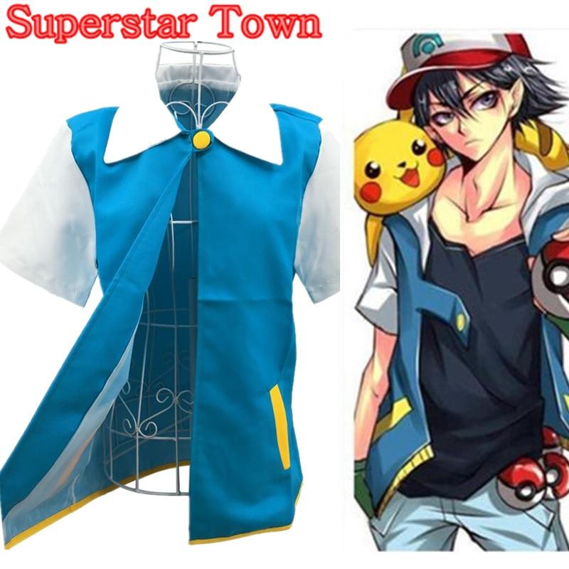 Anime Ash Ketchum тренажері костюм - Костюмдер - фото 2