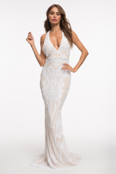 Evnora babe 2019 new in sequin maxi dress evening dress fishtail