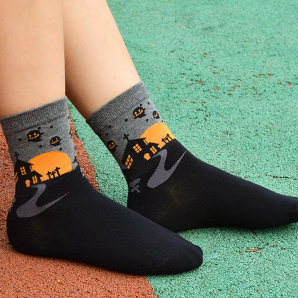 1Pair Cartoon Women Sockss