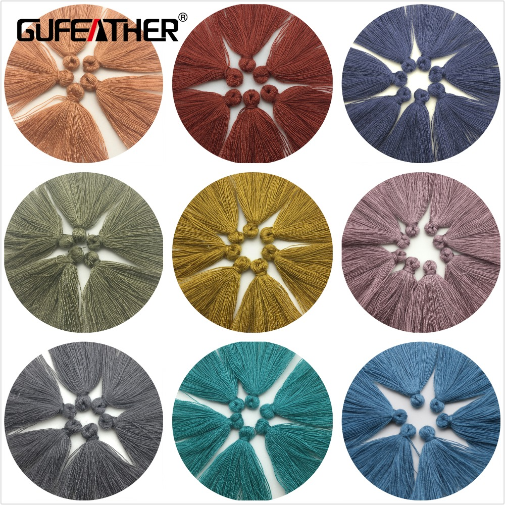 GUFEATHER L17/2.7cm-3cm/tassel/Cotton tassels/jewelry accessories/jewelry findings/tassels for jewelry diy/diy making
