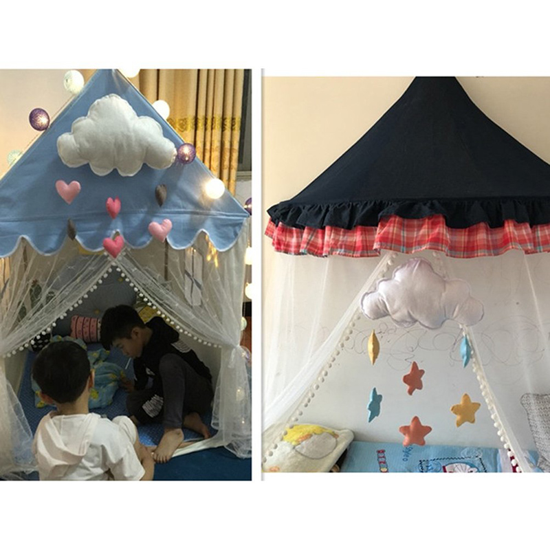 Child S Room: Aliexpress.com : Buy Lovely Cloud Tent Wall Hanging Decor