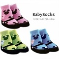 2016 Minnie Children Socks Baby Girls sock Character Bebe pantufa Child short Knee High non-slip Shoes Sock