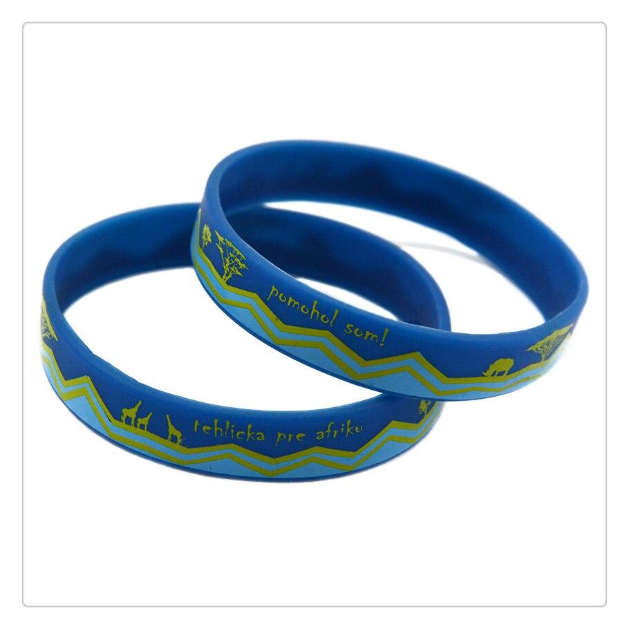 Promo Gift Custom Design Tie Dye Silicone Bracelet Rubber Wristband(china  (mainland))