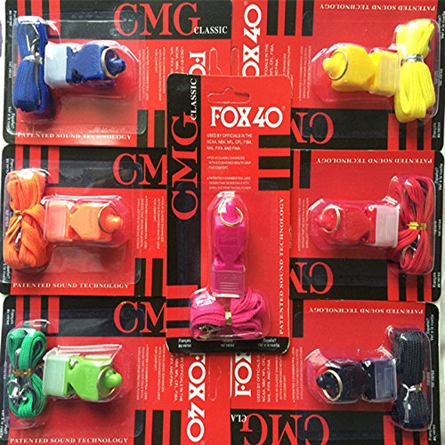 10PCS/Lot PAIDIAO, FOX40 Whistle Seedless Plastic Whistle Professional Soccer / Basketball Referee Whistle Dolphin Apito