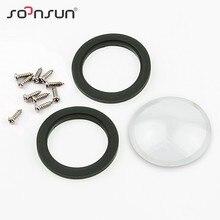 SOONSUN carcasa de cristal para GoPro Hero 2 Hero2, Kit de reemplazo de lente, funda carcasa impermeable, accesorios para Go Pro