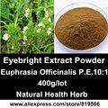 Extracto de eufrasia Eufrasia Officinalis Natural Hierba P.E Polvo de Cuidado de La Salud de La Vista Suplementos Dietéticos
