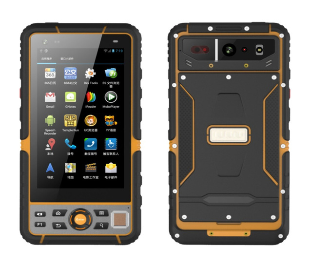 2018 T60 Rugged Android Smartphone Ip67 Waterproof Shockproof Tough Mobile Phone 5 Handheld Terminal 1d