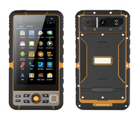 2018 T60 Rugged Android Smartphone IP67 Waterproof Shockproof Tough Mobile Phone 5.5 Handheld Terminal 1D 2D Barcode Scanner