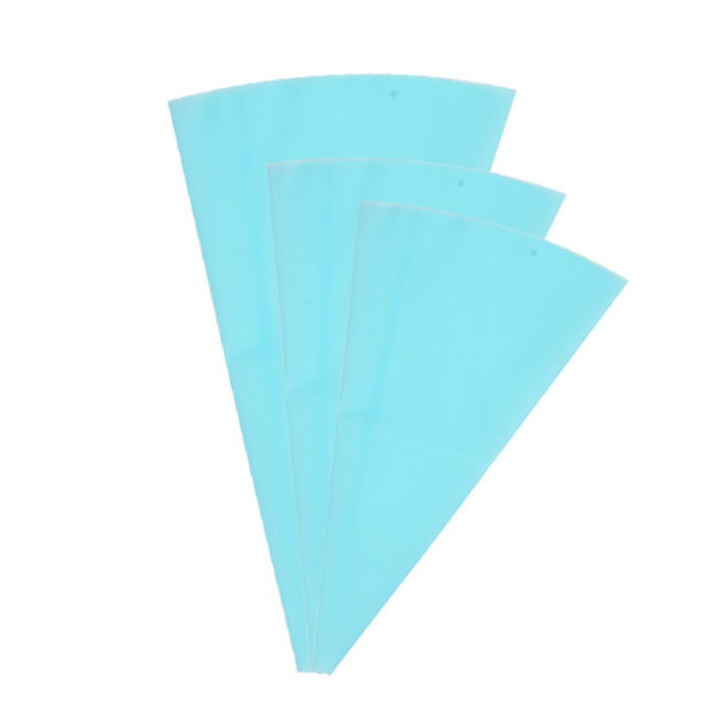 1PC Silicone Reusable Cream Piping Bag Pastry Bag Icing Piping Cake Cupcake Decorating Tools/Bags Cake Tools