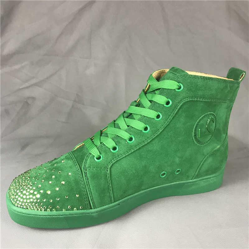 Beige Hombre Hi Louis Plana Moda Fnjack Bottom Boot Zapatos Zapatillas negro Red 100 Suede top txRv5qO