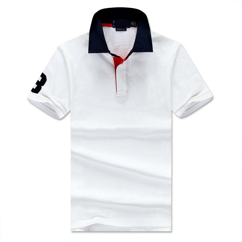 Aliexpress.com  Buy 2016 New Solid Polo Shirt Men Classic Slim camisa polo Short sleeve mens polo shirt brands polo ralphmen horse from Reliable polo shirt polo suppliers on Mystery Costumes(10)