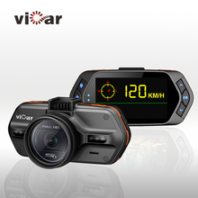 Original VICAR S6 Car DVR full HD Ambarella A7 1296P GPS Car Camera Black Box Video recorder Night Vision Dash Cam