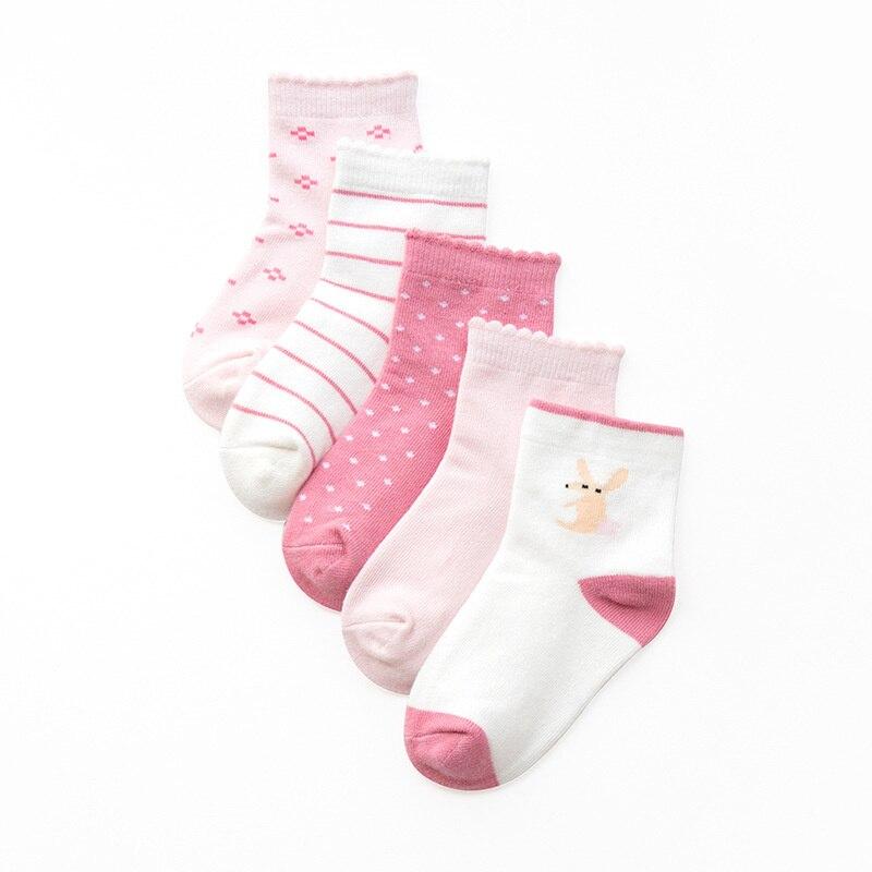 Infantil, Clothes, Spring, Cartoon, Sock, Girls