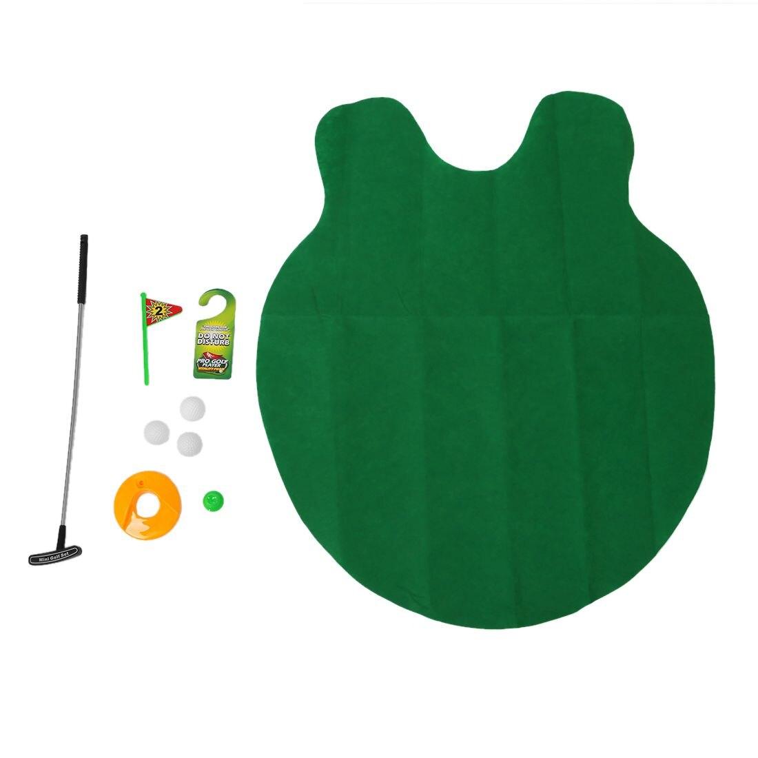 Mini Golf For Toilets