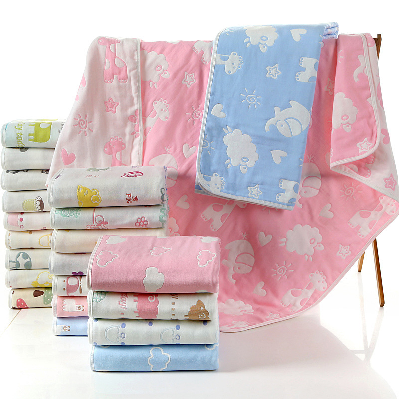 Childrens towel towels Childrens thickened towels with blankets Childrens four seasons multi-purpose bath towels