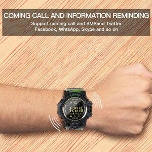 Image 4 - Amynikeer ex16s relógio inteligente novos esportes bluetooth pulseira inteligente ip67 à prova dip67 água pedômetro cronômetro alarme tempo de espera longa banda