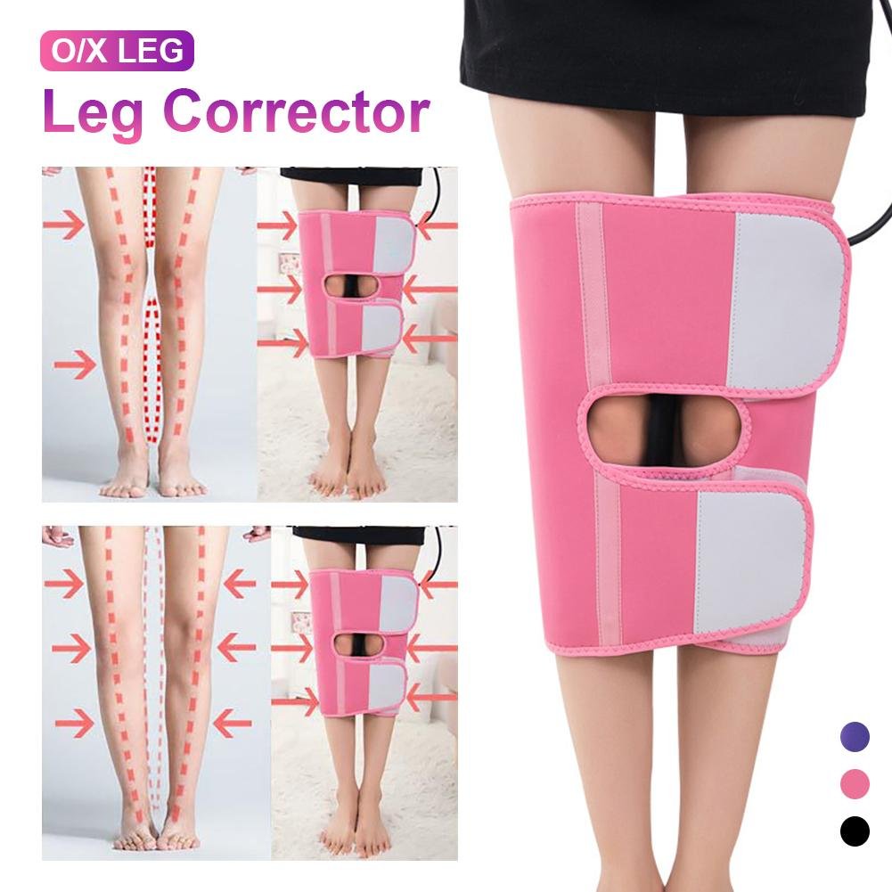 O/X Leg Inflatable Correction Brace Bands Straightening Bandage Legs Posture Corrector Belt