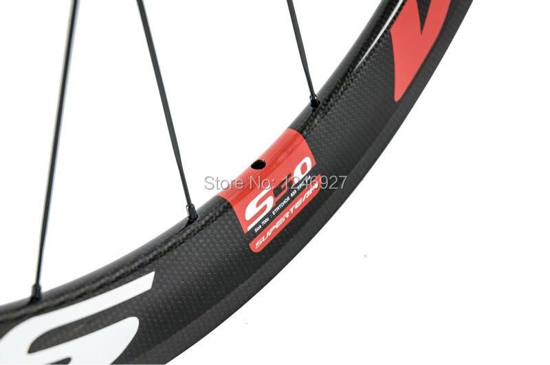vermelho fibra carbono completo 23mm largura 271