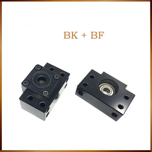 NEW Ball Screw End Support Unit BK BF series BK10 BF10 BK12 BF12 BK15 BF15 BK20 BF20 for SFU1204 SFU1605 sfu2005 CNC parts ballscrew end supports for cnc machine parts bk bf10 bk bf12 bk bf15 bk bf17 bk bf20 bk bf25 use sfu1204 1604 1605 2005 2010