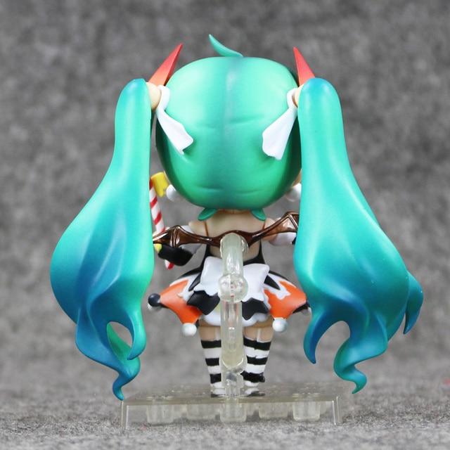 """Color box Hatsune Miku Halloween Nendoroid 448 PVC Action Figure Model Collection Toy 4"""" 10CM 2"""