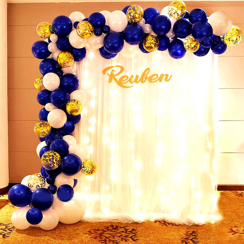 Royal Blue And Yellow Birthday Party Decorations from ae01.alicdn.com