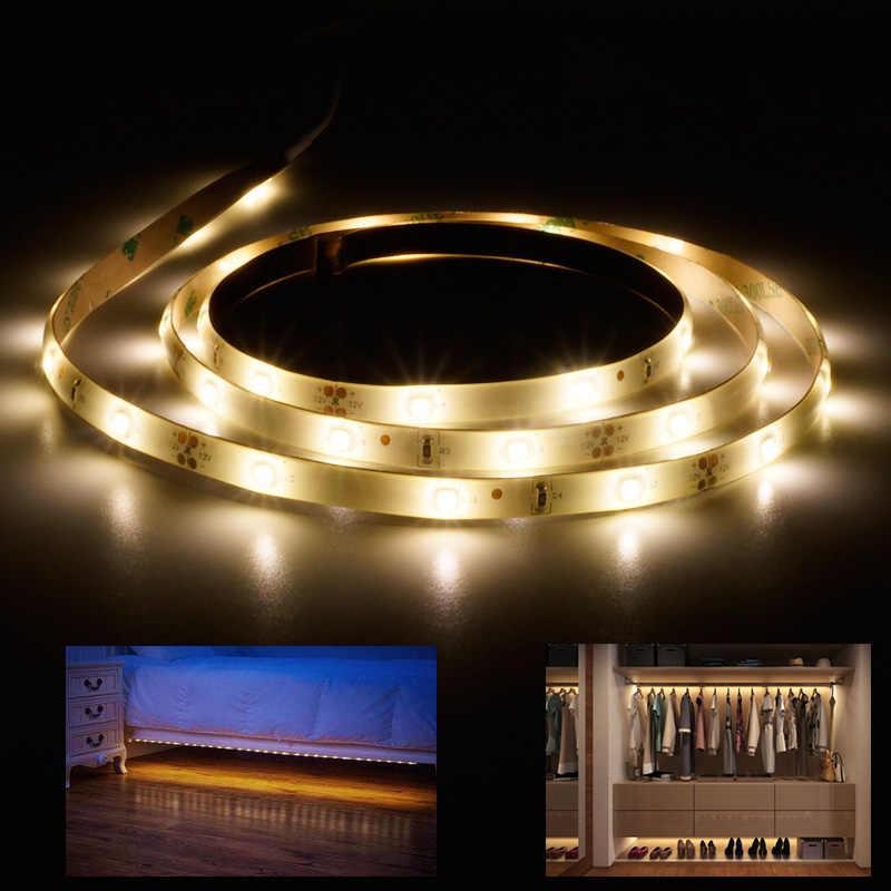 [Mingben] движение активированный led Сенсор полосы Водонепроницаемый IP66 цифровой кровать-освещение acttivated освещения с Для тела Сенсор 1.2 м