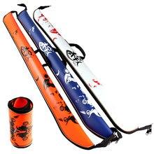 Brand 120cm Fishing Rod Bag EVA Portable Folding Fishing Tackle Bag Printting Zipper Multifunctional Outdoor Fishing Bags
