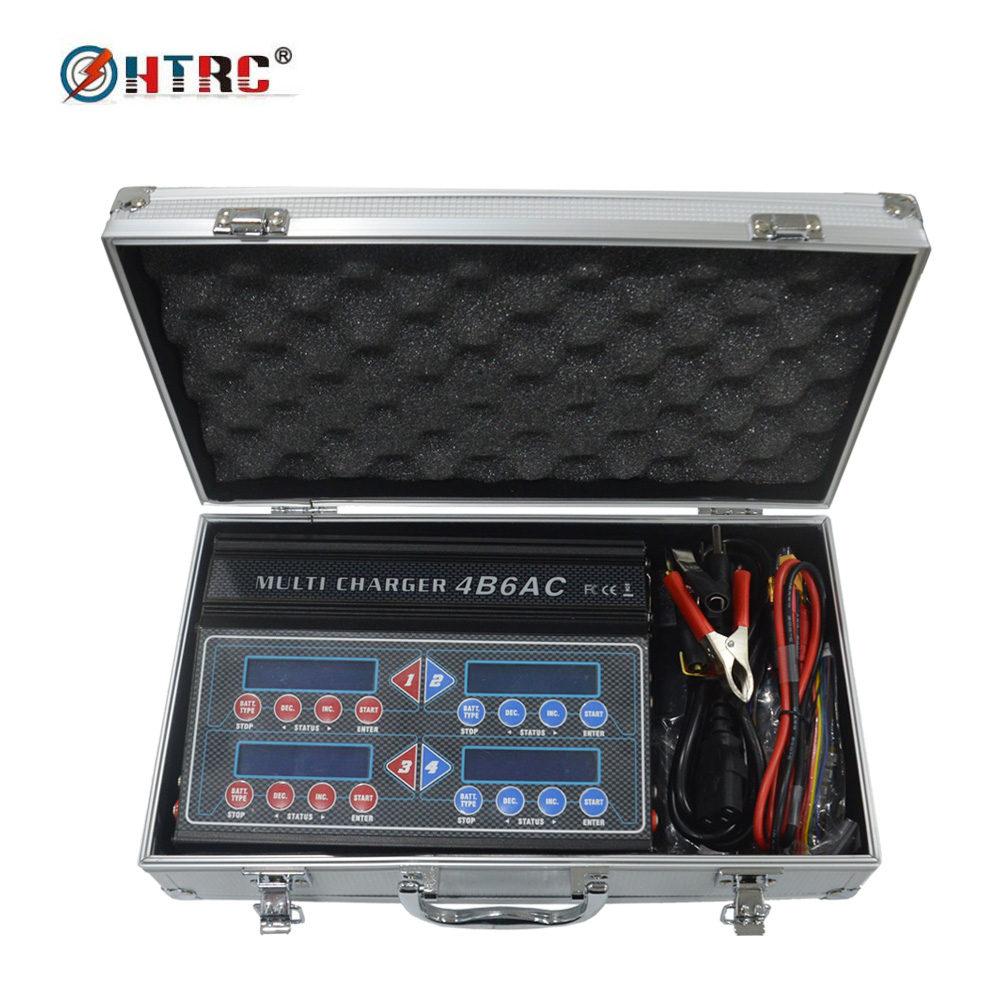 4B6AC iMAX Quattro B6AC Professional RC Balance Charger Discharger for Multi-Chemistry Battery Built-In AC icharger 4010duo multi chemistry dc battery charger 10s 40a 2000w
