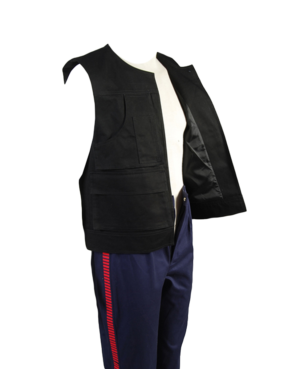 Star Wars ANH A New Hope Han Solo Costume Vest Only Top Costume Halloween Carnival Cosplay Men-in Movie & TV costumes from Novelty & Special Use