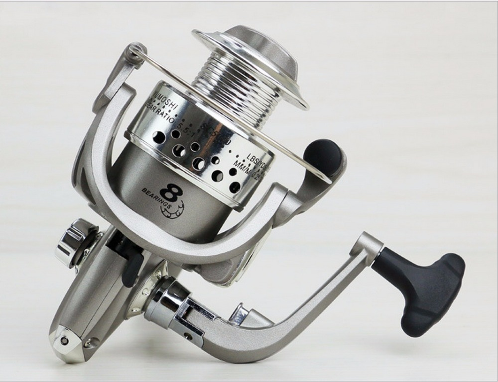 NEW HOT SALES SC2-7000 Ocean inshore saltwater ICE FLY CARP spinning reel 8 Ball Bearings distant wheel dual way foldable handle