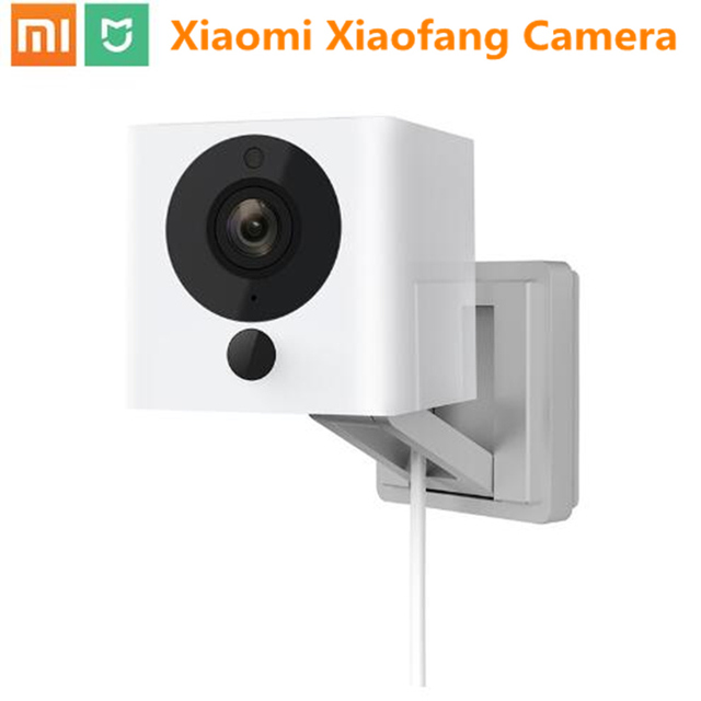 New Updated Xiaomi Smart Camera Xiaofang 1080P HD Micro Portable 8X Night Vision Camcorder App Control WIFI Security Camera