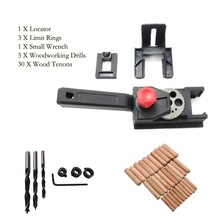 38PCS Drilling Locator Hole Punch Jig Woodworking Tool Center Drill Bit Guide Set Sleeve Hardware Locator Woodworking Tool punch twist nose cap drill dedicated locator for electric grinder rotary tool diy woodworking tools