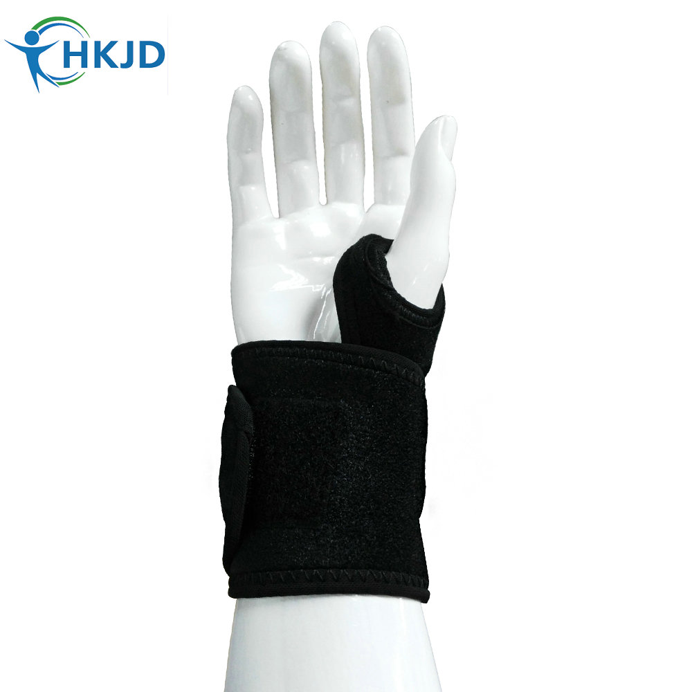 Arthritis pain Elastic Gloves support Medical Wrist Thumbs Wrap Hands Splint Support Brace Stabiliser Training Correction