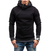 Fashion Brand Hoodies Men Casual Sportswear Man Hoody Zipper Long Sleeved Sweatshirt Men Five Colors Slim